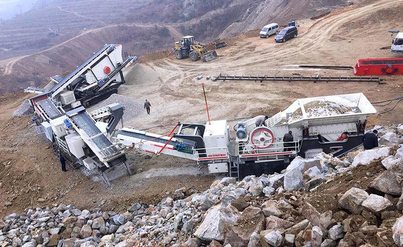 山东石料破碎生产线