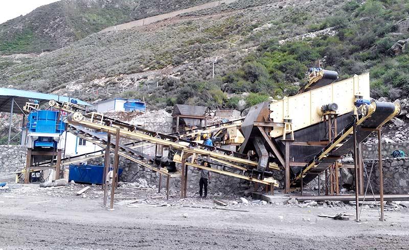 烟台金矿制砂生产线