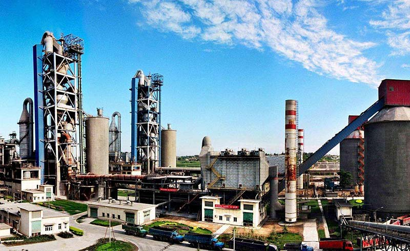 河南焦作活性石灰生产线