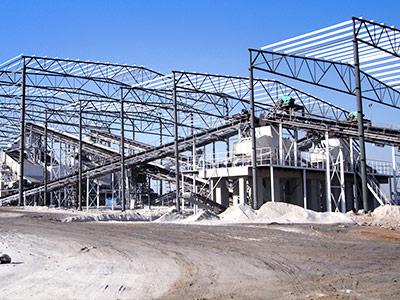 山东河卵石破碎生产工艺流程