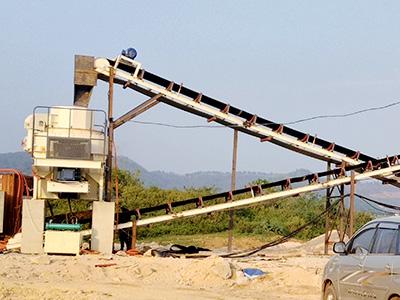 河南焦作机制砂生产线