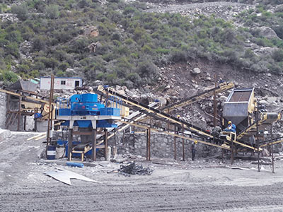 甘肃金刚砂制砂生产线