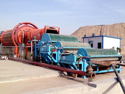 湖南锰矿磁选生产线