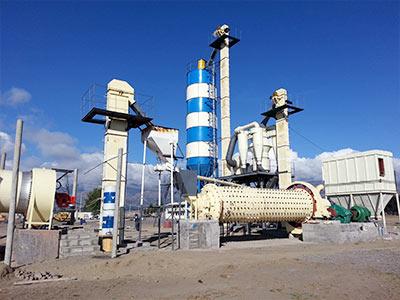 内蒙古铅锌矿选矿生产线