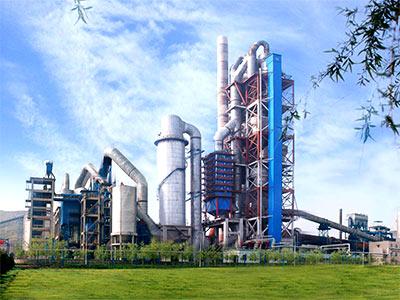 山西临汾时产800吨水泥生产线